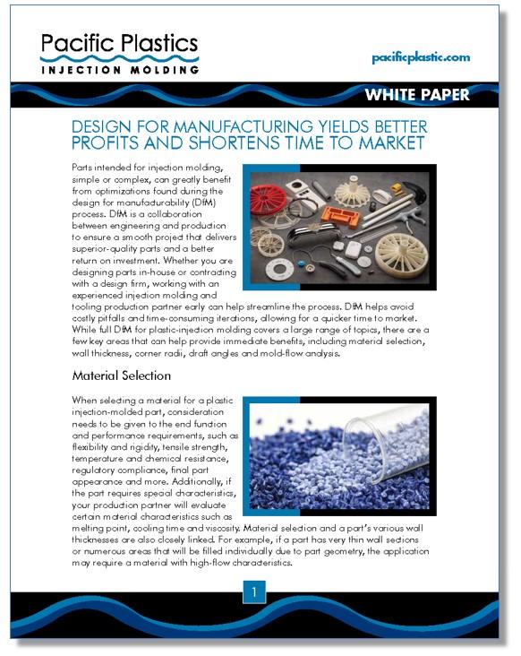 PPIM Design for Manufacturing White Paper